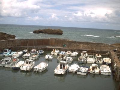 Biarritz, le vieux port