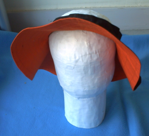 Le chapeau sur la tête de manequin