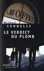 Couverture du Verdict du plomb de Connely