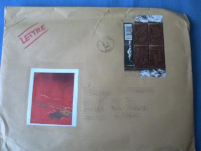 Enveloppe envoyée par Zazimuth, le recto