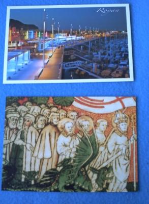 Cartes de Francette et Zazimuth