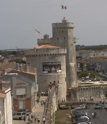 La Rochelle, la tour de la Chaîne