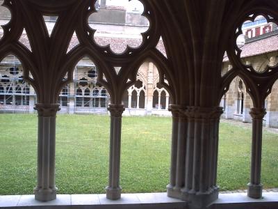 Bayonne, le cloître de la cathédrale