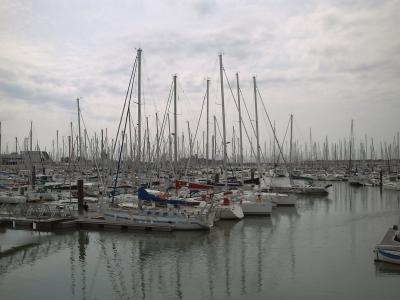 La Rochelle. Le port de minimes