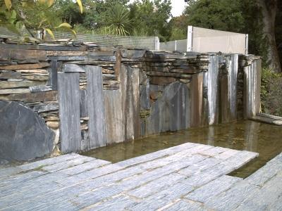 Chaumont, festival des jardins 2009, jardin 6 de Florence Mercier, vue 2