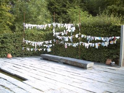 Chaumont, festival des jardins 2009, jardin 6 de Florence Mercier, vue 3