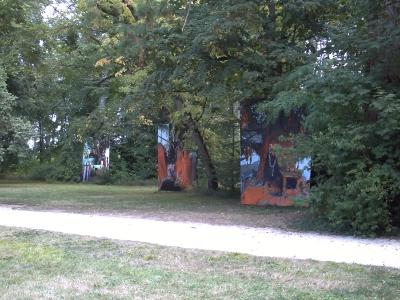 Chaumont, 2009, Arbres sacrés de Deidi Von Schaewen