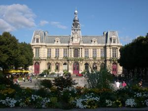 La façade de l'hôtel de ville de Poitiers