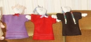 Marionnettes en tissu
