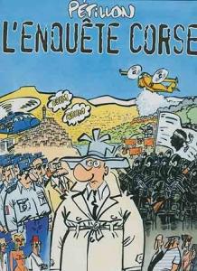 Couverture de l'enquête corse, de Pétillon