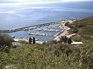 Le port de Piana