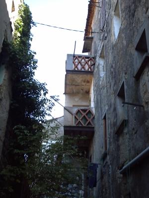 Sartène, dans les vieilles rues