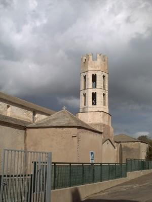 Le clocher de Saint-Dominique à Bonifacio