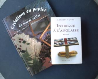 Les livres offerts par Monique
