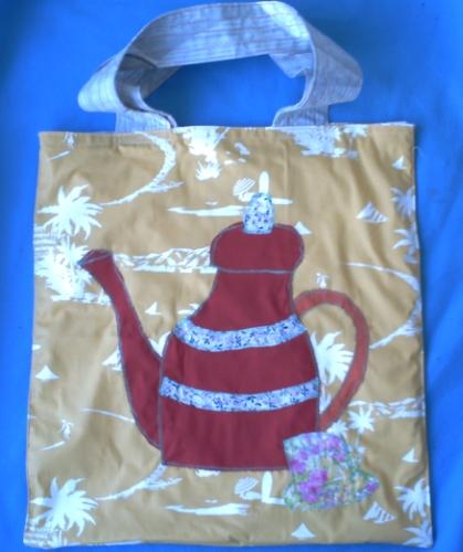 Le sac pour Bidouillette, d'après un modèle de Florence Pacaud