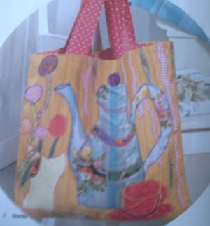 Modèle de Florence Pacaud pour le sac pour Bidouillette