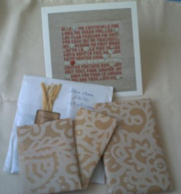 Le cadeau d'Emmanuelle pour mon anniversaire
