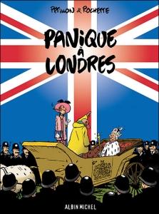 Couverture de Panique à Londres de Pétillon et Rochette