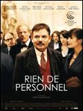 Affiche du film Rien de personnel de Mathias Gokalp