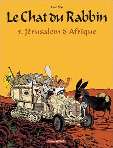 Le chat du rabin, Jérusalem d'Afrique, couverture