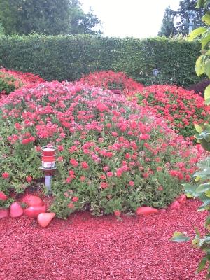 Voir rouge, jardin n° 24 du festival 2009 de Chaumont