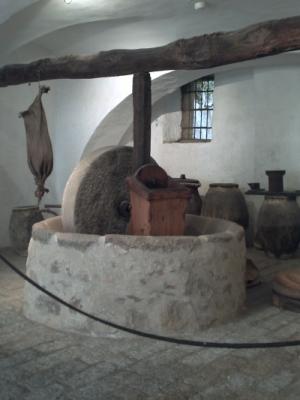 Le pressoir de la maison Bonaparte à Ajaccio