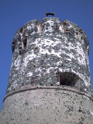La tour génoise des sanguinaires