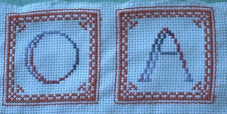 Les lettres A et O