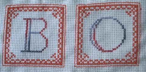 SAL bonne année 2010, les lettres B et B