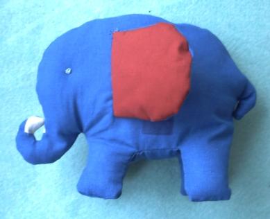 Elephanteau en couture