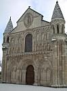 La façade de Notre-Dame-la-Grande à Poitiers