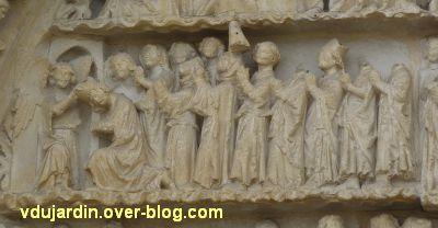 Poitiers, le jugement dernier de la cathédrale, 20, le paradis