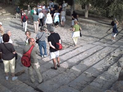 La Crête, Knossos, en 2008 : le théâtre