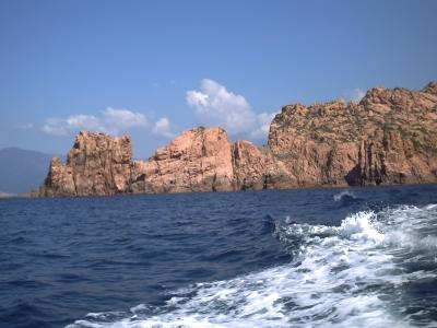 Les rochers de porphyre