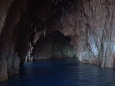 Une grotte dans les calanche, le fond de la grotte