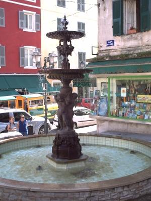 La fontaine aux amours de Direnne à Corte