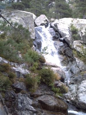 La cascade des Anglais sur le GR 20
