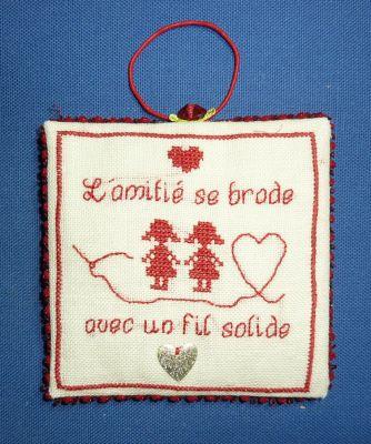 L'envoi de Léti, noël 2009, un pinkeep de l'amitié