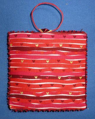 L'envoi de Léti, noël 2009, le dos du pinkeep