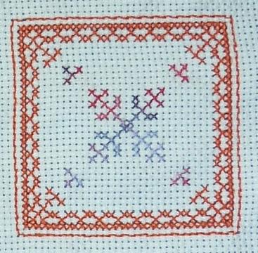 L'étoile du biscornu à 15 faces de Véro 21