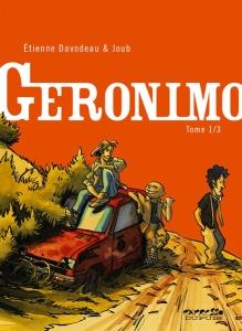COuverture de Geronimo de Davodeau et Joub