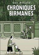 Couverture de Chroniques birmanes de Guy Delisle