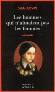 Couverture du premier tome de millenium, de Larsson
