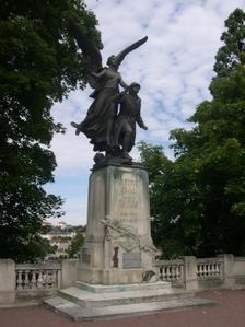 Le monument auxmorts pour 1914-1918 à Poitiers