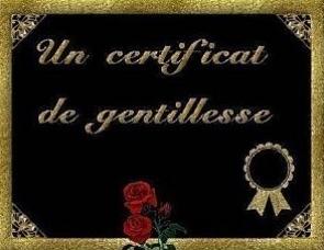 Logo du prix de la gentillesse décerné par Bidouillette