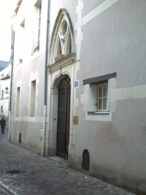 Tours, novembre 2009, basilique Saint-Martin : la façade du musée Saint-Martin