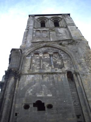 Tours, novembre 2009, basilique Saint-Martin : la tour Charlemagne