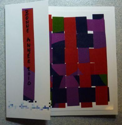 Carte de voeux 2010 de mes amis poitevins