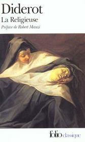 Couverture de la Religieuse de Diderot