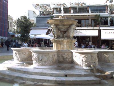 Heraklion, la fontaine Morosini